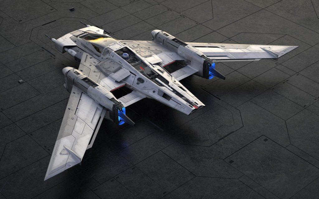 Porsche le pone su sello a una nave espacial en la nueva película de Star Wars