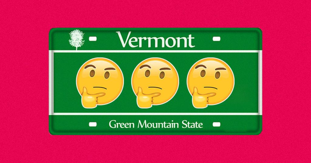 Un estado de la nación quiere los Emojis en las placas de los autos