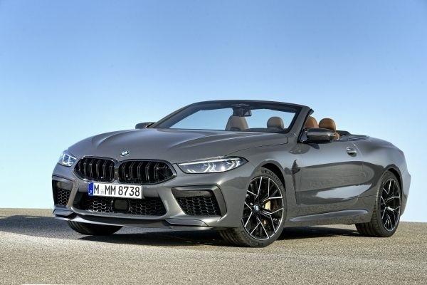 BMW M8 convertible del 2020, el placer de la velocidad al aire libre